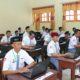 Pelakasanaan UNBK di Kabupaten Sumenep, Senin (1/4/2019). (Foto: M. Mahdi/NUSANTARANEWS.CO)
