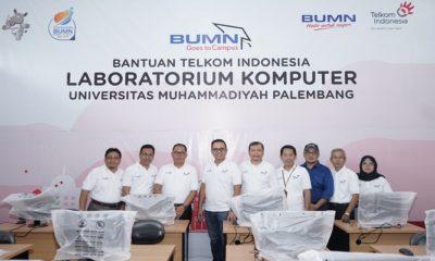 BUMN Goes to Campus 2019 Direksi Telkom Berbagi Inspirasi dan Motivasi dengan 3.000 Mahasiswa di Palembang