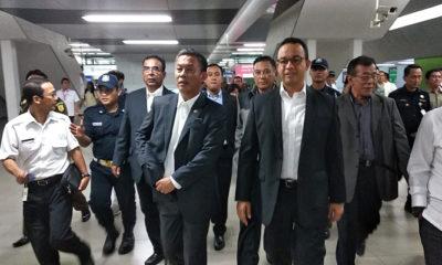 Gubernur Anies dan Ketua DPRD DKI Jakarta Pastikan Tarif MRT Ditetapkan Lewat Rapat Paripurna, nusantaranewsco