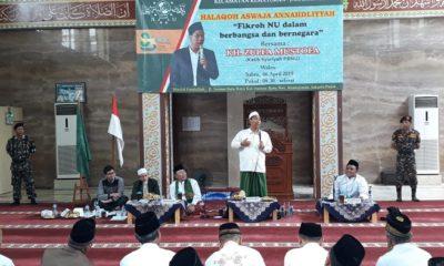 Halaqoh Aswaja Annahdliyyah NU Kemayoran. (FOTO: NUSANTARANEWS.CO/Farhan)