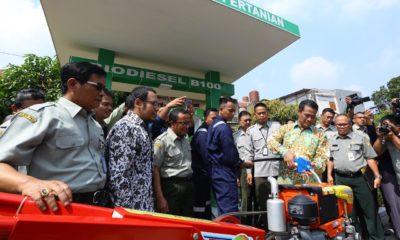 Gelar Ujicoba Perdana, Menteri Amran Optimistis B100 Mampu Perkuat Ketahanan Energi Nasional