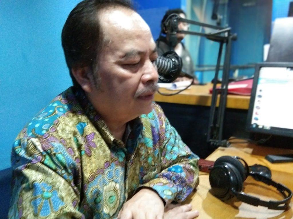 RektorUniversitas Pakuan, Prof. Bibin Rubini (Foto Istimewa Dok. NUSANTARANEWS.CO)