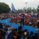 Kampanye Partai Demokrat Menyapa, AHY ajak warga Ponorogo tidak golput di Pemilu 2019. (Foto: Muh Nurcholis/NUSANTARANEWS.CO)