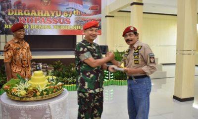 kasdam brawijaya, brigjen tni bambang ismawan, prajurit komando, nusantaranews