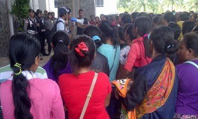 Ketua SBSI Nunukan Minta KPU Siapkan TPS Alternatif untuk Para Buruh. (Foto: Eddy Santri/NUSANTARANEWS.CO)