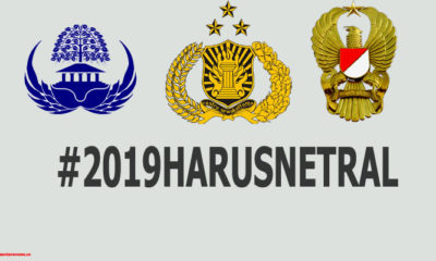 Penyelenggara Negara Mulai Dari ASN, TNI, Polri Diminta Netral (Ilustrasi NUSANTARANEWS.CO)