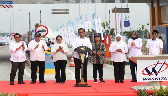 Presiden Jokowi Sebut Peresmian Tol Pasuruan-Probolinggo untuk Perkuat Perekonomian Jatim,nusantaranewsco