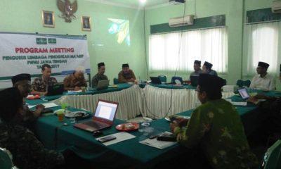 LP Ma`arif PWNU Jawa Tengah rumuskan desain program Pengembangan Keprofesian berkelanjutan (PKB) Guru Ma`arif Jawa Tengah. (FOTO: NUSANTARANEWS.CO/Ibda)