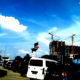Potret di kota metropolitan. (Foto: Ilustrasi/NUSANTARANEWS.CO/Eriec Dieda)
