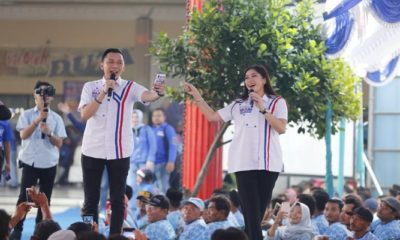 Sulut Semangat Kader Demokrat Ngawi, Ibas Dobrak Kandang Banteng, nusantaranewsco
