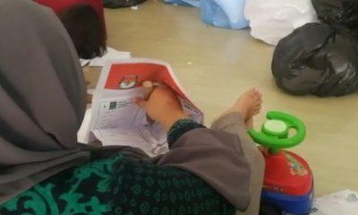 Surat Suara dicoblos sebelum pemungutan suara. (FOTO: Istimewa)