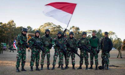 TNI AD juara lomba tembak AASAM 2019 sehingga tercatat sebagai pemenang sebanyak 12 kali berturut-turut. (Foto: Istimewa)