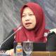 "Direktur Eksekutif Perludem Titi Anggraini dalam diskusi publik yang digelar Komisi Yudisial (KY) dengan tema ""Mengawal Profesionalisme Hakim dalam Proses Peradilan Pemilu"" di Ruang KK II, Gedung Bundar, Kompleks MPR,DPR/DPD, Senayan, Jakarta, Selasa (2/4/2019). (FOTO: Dok. @KomisiYudisial)"