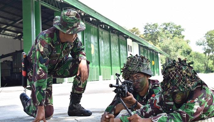 prajurit armed 12 kostrad, armed 12 kostrad, uji terampil perorangan, kostrad, nusantara news