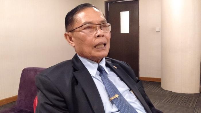 Wakil Ketua Komisi I DPR RI Fraksi Partai Gerindra, Asril Hamzah Tanjung. (FOTO: NUSANTARANEWS.CO/Romadhon)