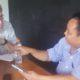 Wawancara Waketum Gerindra Arief Poyuono dengan jurnalis investigasi independen asal Amerika Serikat, Allan Nairn disebuah tempat tertutup, 20 Maret 2019. (FOTO: NUSANTARANEWS.CO)