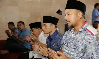 Ziarah Makam Bung Karno, AHY Ajak Milenial Blitar Coblos Caleg Demokrat, NUSANTARANEWSCO