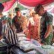 enam ton beras, stand bazar, korem 082 cpyj, ludes, nusantaranews