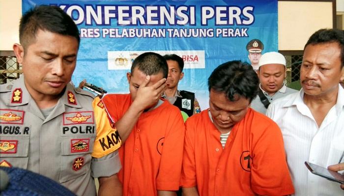 Ditangkap di Suramadu, Tim Gabungan Tangkap Dua Pengedar Sabu, nusantaranewsco