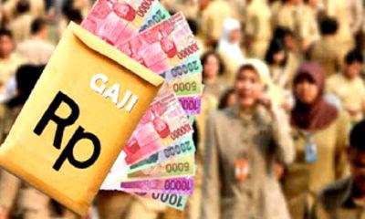 pemerintah, gaji, gaji ke-13, thr, nusantaranews