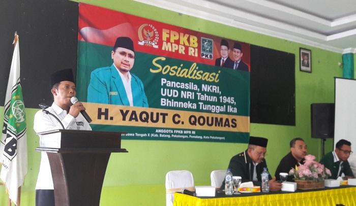 Gelar Sosialisasi Empat Pilar, Gus Yaqut Ajak Masyarakat Jaga Indonesia. (Foto DOk. NUSANTARANEWS.CO)