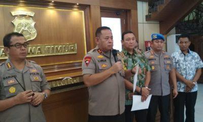 Polda Jatim Tetapkan 21 Orang DPO Pelaku Pembakaran Polsek Tambelanga. (Foto: Setya/NUSANTARANEWS.CO)