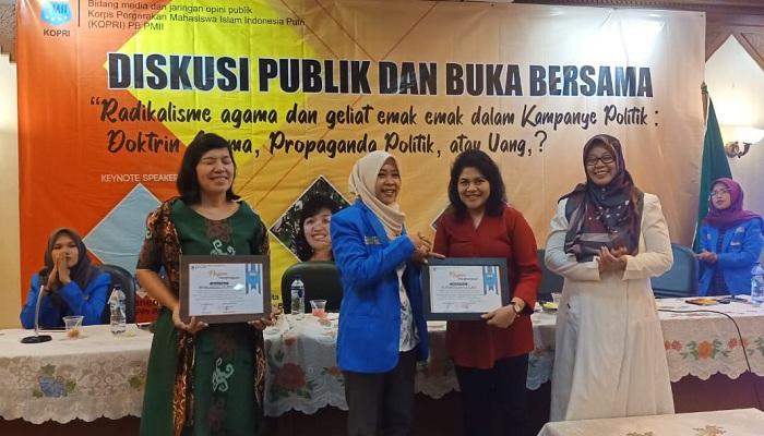the power of emak-emak, kopri pb pmii, 2019, nusantaranews