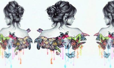 Kupu-Kupu Perempuan. (Foto: Ilustrasi SelArt/Lukisan Istimewa)