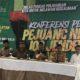 Lawan Kedzaliman, 108 Jenderal Purnawirawan TNI-Polri Gelar Konferensi Pers, Senin (20/5/2019). (Foto: NUSANTARANEWS.CO)