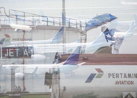 garuda indonesia, pertamina, harga tiket pesawat, nusantaranews