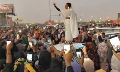 perempuan, sudan, revolusi, nusantaranews