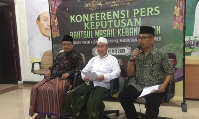 pwnu jatim, people power, fatwa, nusantaranews