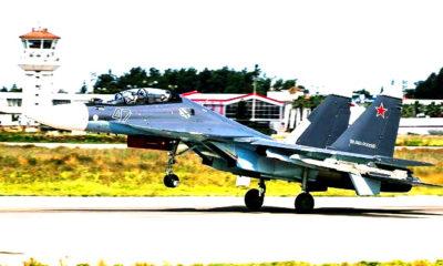 Pesawat Angkatan Udara Rusia di Suriah