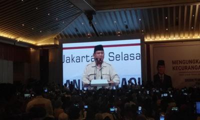Prabowo Subianto tegaskan Menyerah Pada Ketidakadilan Berarti Mengkhianati Rakyat Indonesia, nusantaranewsco
