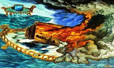 Prahara Televisi - Lukisan Lucia Hartini. (FOTO: Istimewa)