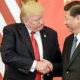 Presiden Tump dan Presiden Xi