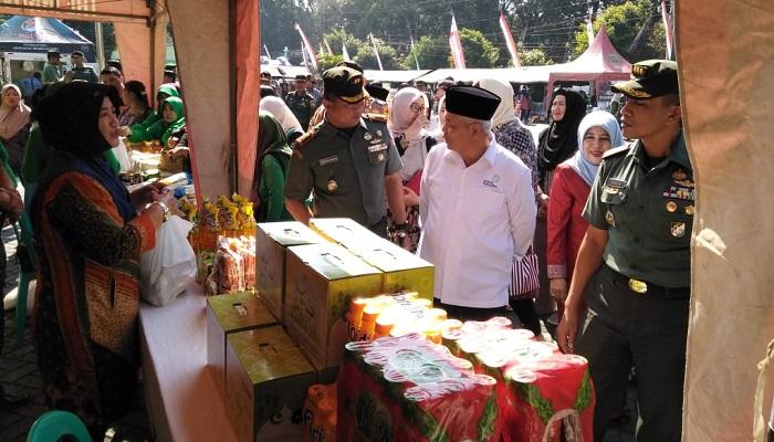 bazar murah, korem baladhika jaya, jelang lebaran, nusantaranews