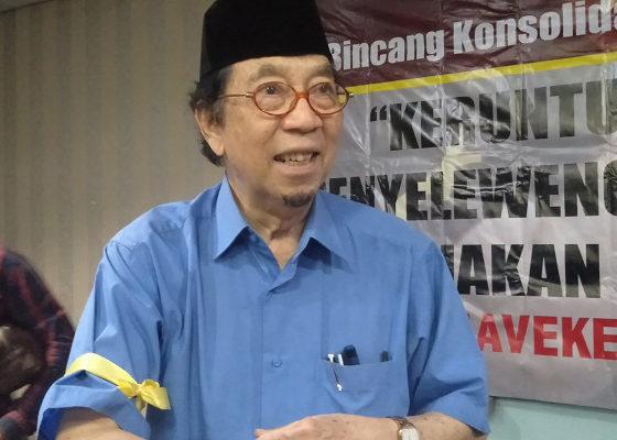 sri edi swasono, krisis konstitusi, krisis kepemimpinan, diselesaikan, bangsa indonesia, nusantaranews