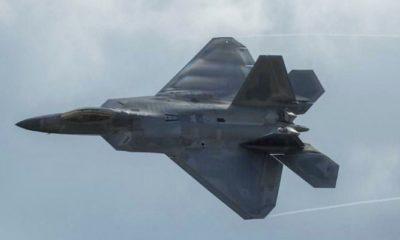 AS mengerahkan jet tempur F-22 ke Qatar. (FOTO: Istimewa)