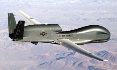 Angkatan Udara Iran Tembak Jatuh Drone AS