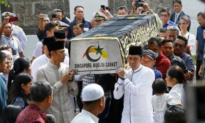 ani yudhoyono wafat, demokrat, dpc demokrat, bendera partai, setengah tiang, nusantaranews