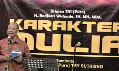 Badjoeri Widagdo, SH, MBA, Pati Purn TNI-AD mantan Wakil Rektor STIN/IIN 2003-2005. (FOTO: Istimewa)