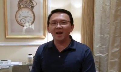Mantan Gubernur DKI Jakarta Basuki Tjahaja Purnama alias Ahok mengucapkan selamat ulang tahun DKI Jakarta ke-492. (FOTO: Istimewa)