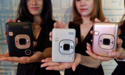 Fujifilm Luncurkan Instax Mini LiPlay. (Foto Untuk NUSANTARANEWS.CO)