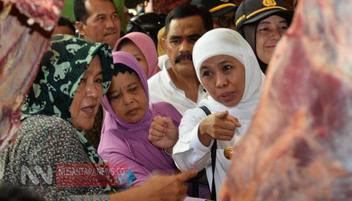 Gubernur Jawa Timur Khofifah Indar Parawansa. (Foto: Tri Wahyudi/NUSANTARANEWS.CO).