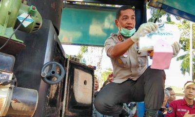 hut bhayangkara, narkotika, polrestabes surabaya, nusantaranews