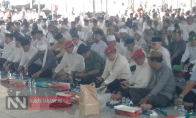Halal Bihalal Purnawirawan TNI dan Polri di Masjid At Tin TMII, Jakarta Pusat Dihadiri 7 Ribu Orang. (Foto: Romandhon/ NUSANTARANEWS.CO).
