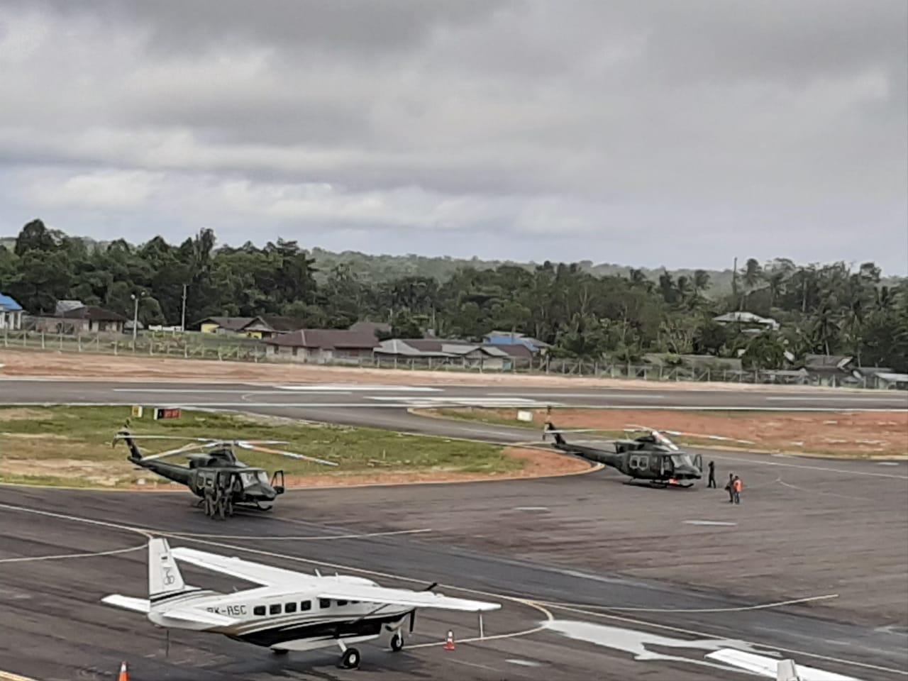 Ini Tiga Unit Pesawat Pencari Helly M-17. (Foto    Dok Pendam Cendrawasih untuk NUSANTARANEWS.CO)