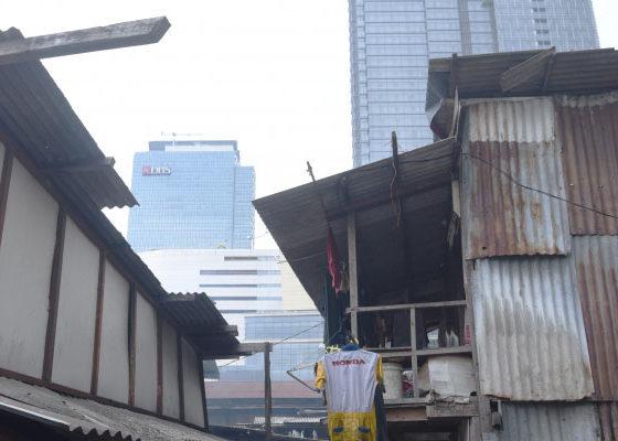 Ilustrasi Kehidupan Urban di Jakarta. (Foto Istimewa)