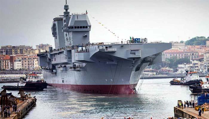 Itali Meluncurkan kapal Perang